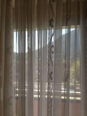 Vorhangs ink Gardinenleisten für vier