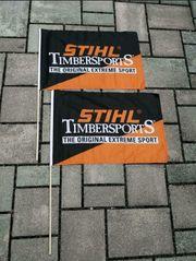 STIHL Timbersports Fahne Flagge 2