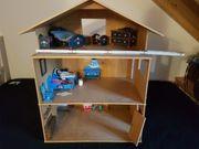 Puppenhaus aus Holz inkl Zubehör