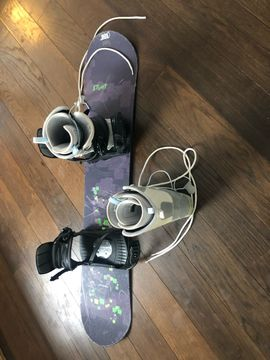 Snowboard +Boots