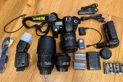 DSLR Nikon D90 inkl 3