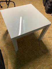 Ikea Lack Tisch Hochglanz weiß