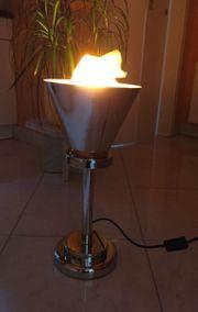 Flammen Stehlampe - Tischleuchte - Virtuelle Flamme -