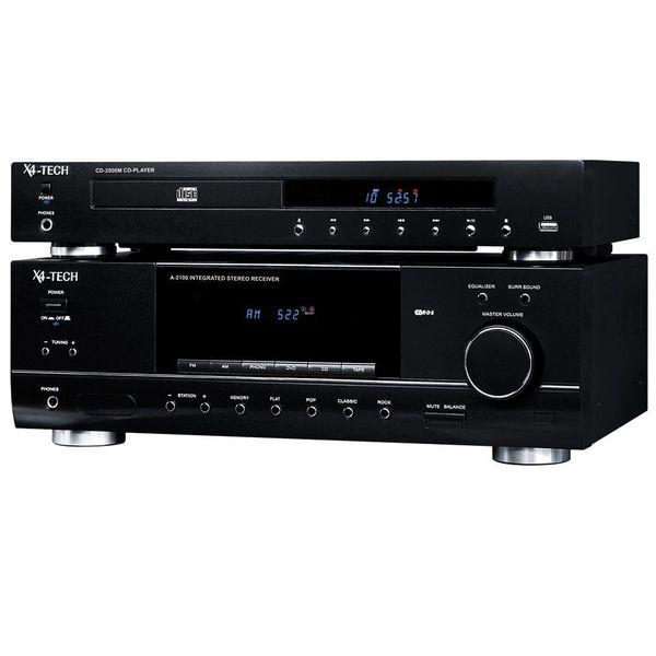 Komplette neuwertige Stereoanlage 2x2 Stereo