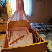 Kinderbett Bettstadl mit Ausstattung