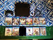 PS4 mit Controller und 11