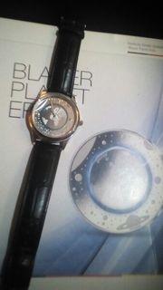 Herren Armbanduhr Blauer Planet Erde