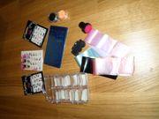 100 Nageltips - Stamping - Nagel-Sticker und Werkzeug