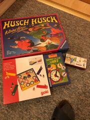 Kinderspiele Puzzle und Bücher