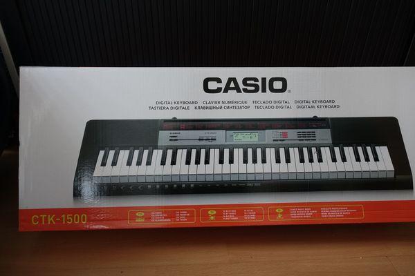 NEUER PREIS - Keyboard Casio CTK-1500