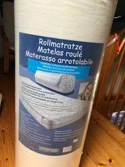 Rollmatratze 90x200 originalverpackt
