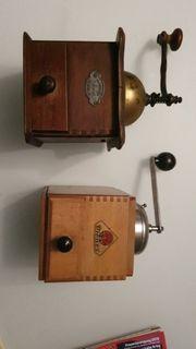 2 Kaffeemühlen antik