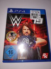 W2K19 - PS 4 Spiel
