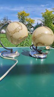 50er Jahre Nachttischlampen
