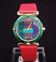 Benetton Bulova Damen Armbanduhr Quarz -