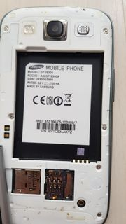 Samsung Galaxy S3 GT-I9300 - SIMKarte