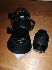 Nikon Spiegelreflexkamera d3000