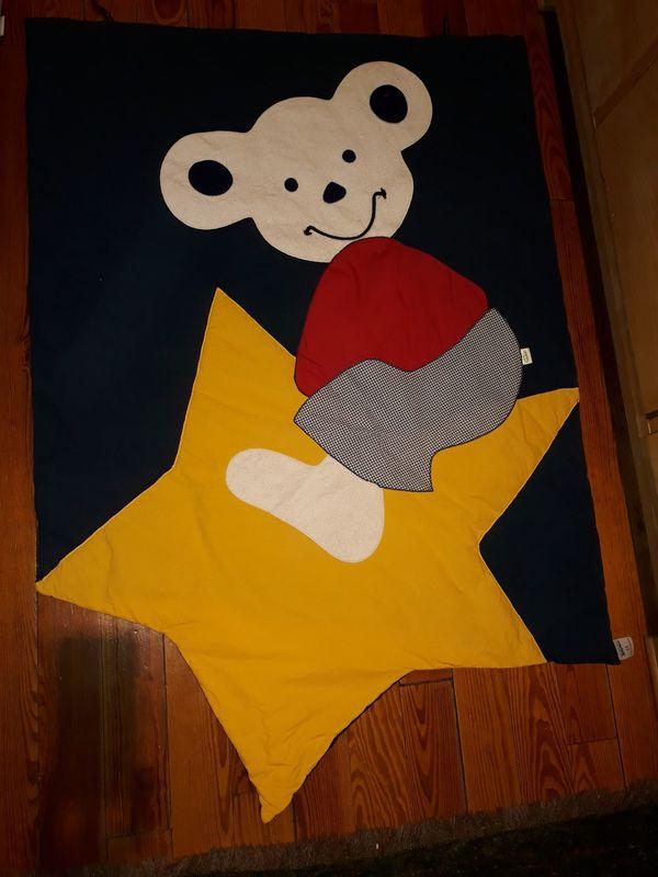 Krabbeldecke Maus auf Stern von