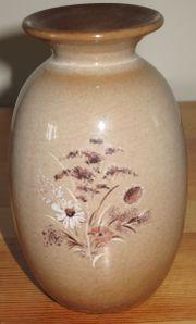 Blumenvase mit Blumenmotiv Höhe ca