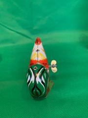 Blechspielzeug - hüpfender Hahn - kaum bespielt