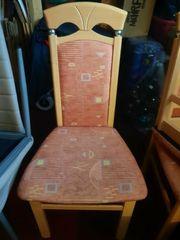 4 Stühle echt Holz