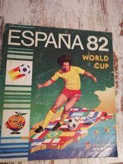 Panini ESPANA 82 World Cup