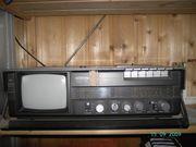 Radiorecorder mit TV