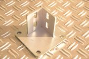 4 x Grundplatte Fußplatte Fundamentplatte