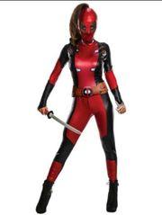 Lady Deadpool Kostüm Marvel Cosplay