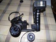 Zwei Fotoapparate für Fotoliebhaber