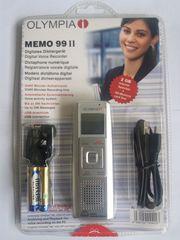 Digitales Diktiergerät MEMO 99 II