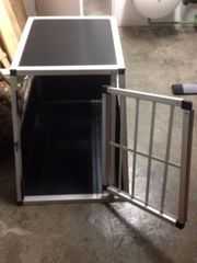 Hundetransportbox Aluminium