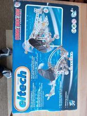 Metallbaukasten Hubschrauber mit Solarzelle und