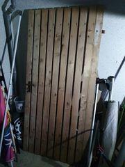 Holztür top Zustand Gartenhaus Gartentor