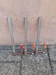 3 Schraubzwingen 70 cm Lang