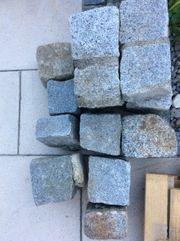 Granitsteine Würfel Pflaster