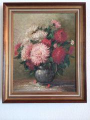 Gemälde Ölgemälde rote und rosa