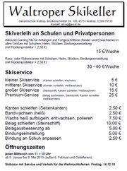 Skiverleih Skiservice Gesamtschule Waltrop Dortmund
