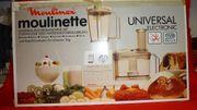große Küchenmaschine Moulinette Universal Electronic