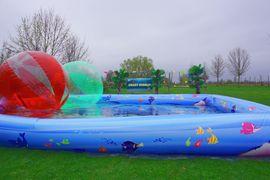 Geschäftsbeziehungen, gewerblich - Water-Walking-Ball Anlage Schausteller für Volksfest