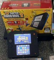 Nintendo 2DS Konsole Schwarz-Mario Bros