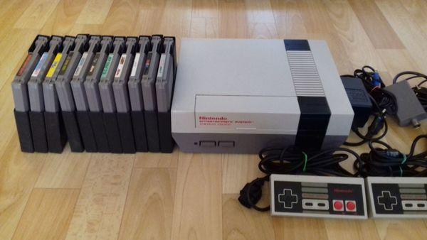 Nintendo NES Konsole inkl