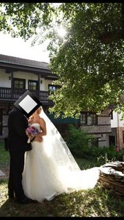 Brautkleid Hochzeitskleid Wedding Dress Schleier