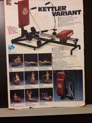 Kettler Ruder - Fitnessgerät