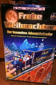älterer Weihnachtskalender - Kalender mit versch Trucks