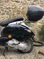 Baotian Gy6 Motor mit Drossel