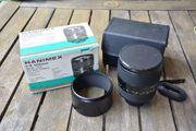 Hanimex Spiegelteleobjektiv 500mm für Analog-Spiegelreflexkamera