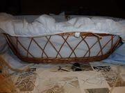 Babykorb mit Federwiege Schlummerli - Entspannungshilfe