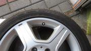 Alu-Felgen und Reifen