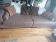 Big Sofa mit Hocker